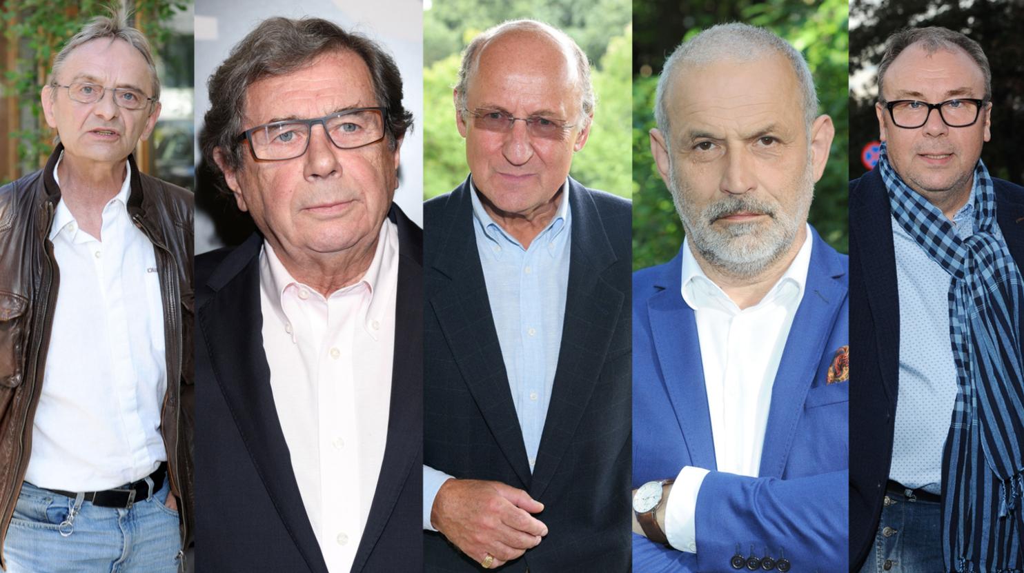 Jerzy Bończak, Janusz Gajos, Piotr Fronczewski,Krzysztof Stelmaszyk, Bogdan Kalus