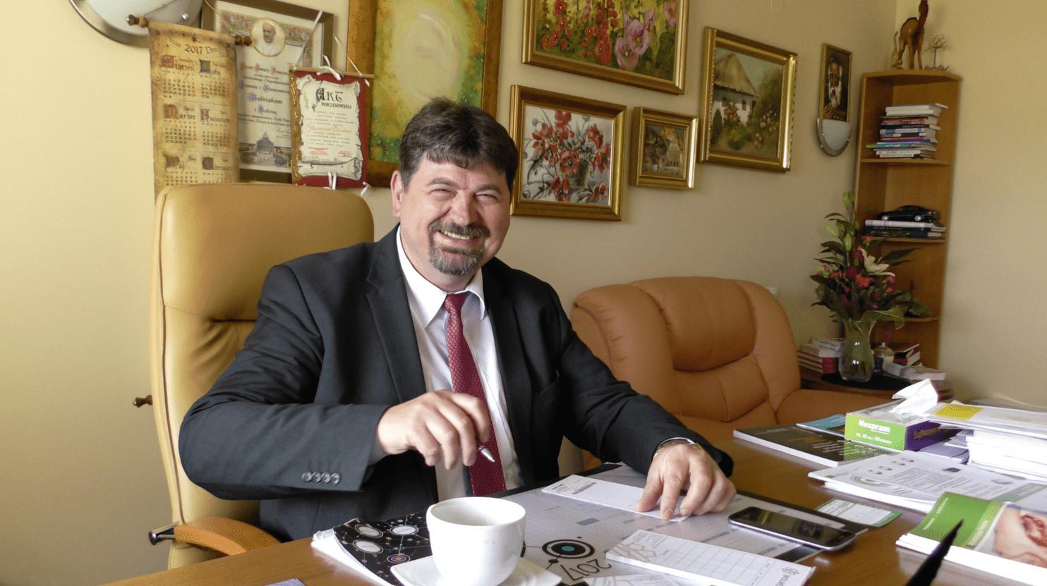 Dr n.med.Sławomir Wolniak,lekarz psychiatra, ordynator Kliniki Wolmed w Dubiu k.Bełchatowa.